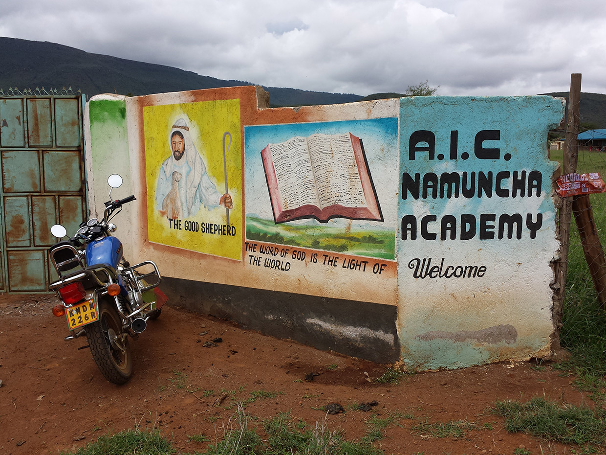 AIC-Namuncha-Child-Development-Center-of-Kenya-entrance-faith-mural-at-entrance-of-center-compound
