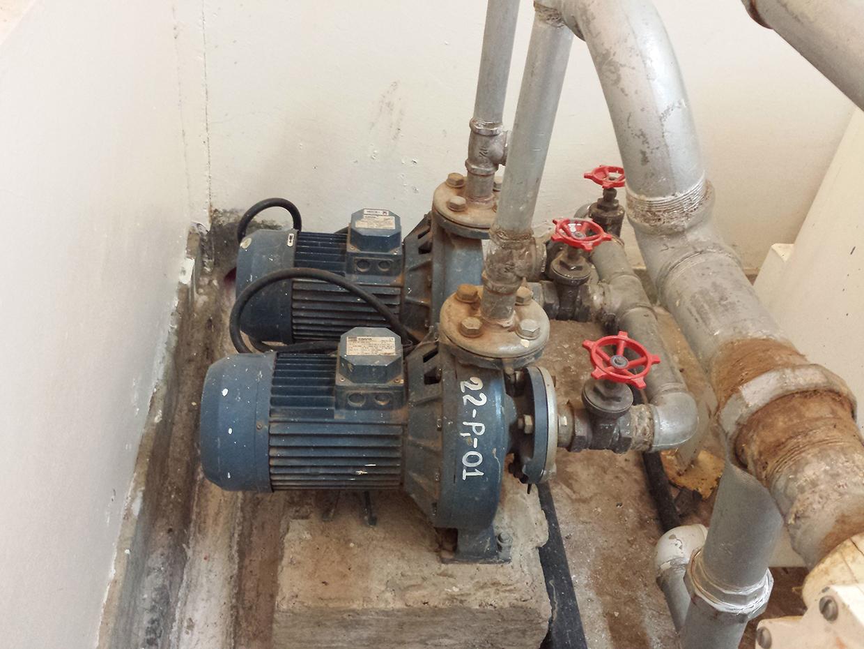 Ewuaso Water Treatment Facility water pump_2