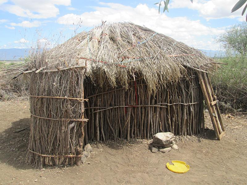 Maasai-hut-home